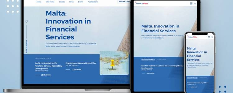 FinanceMalta website