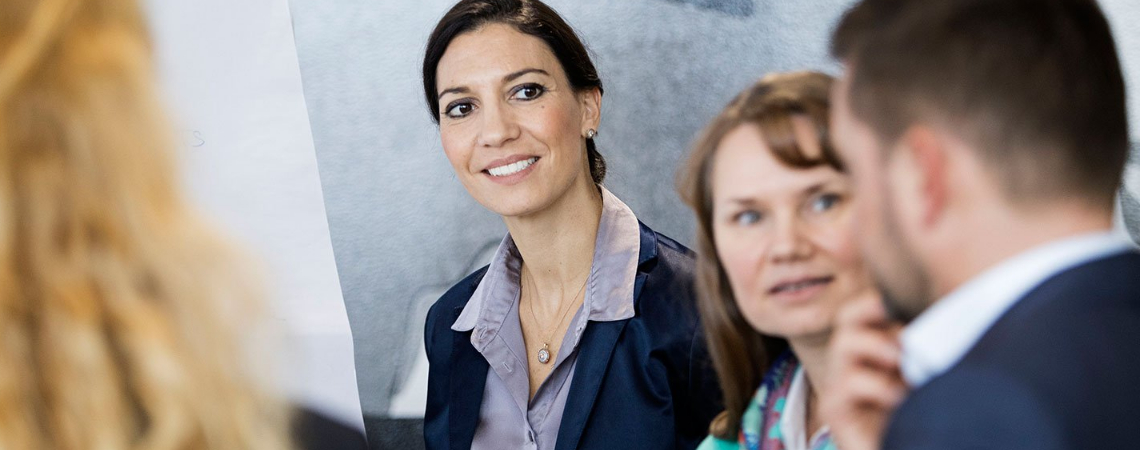 The company has made progress in recent years increasing the number of women in managerial positions.