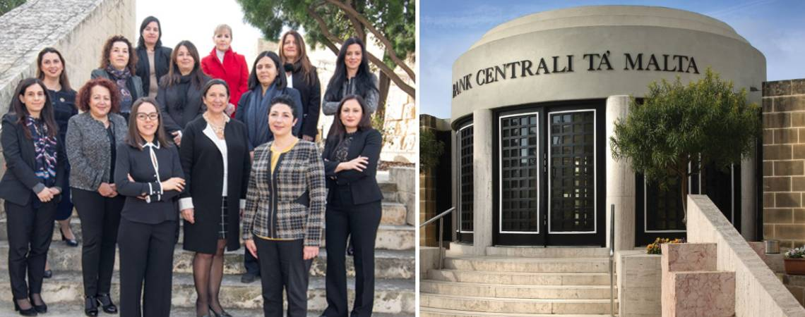 women at central bank