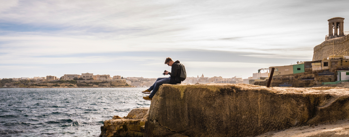 Only 5.1 per cent of young, employed people in Malta were at risk of poverty.