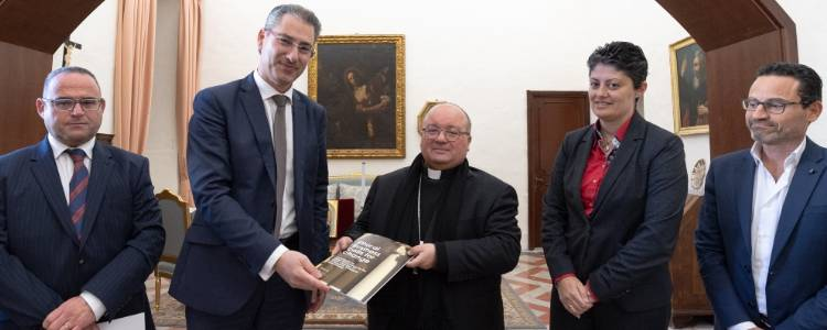 Meeting with Archbishop