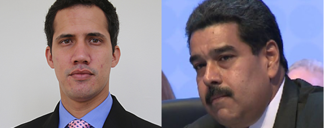 Juan Guaidó, the leader of the legislature, declared himself acting president on the 23rd January, challenging Nicolás Maduro's power.