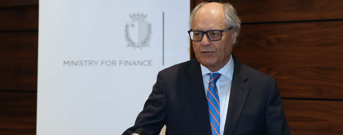 Finance Minister Edward Scicluna said development banks and public-private partnerships led to investment, which in turn leads to economic growth.