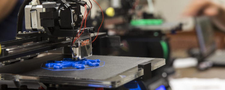 3D printing can decrease time, cost and logistical requirements, reduce waste and ensure more flexible working methods, resulting in a more varied out