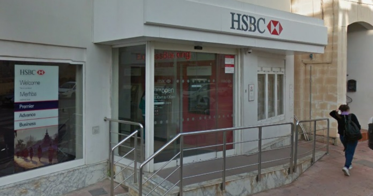Employees And Customers Of HSBC Zejtun Safe Following