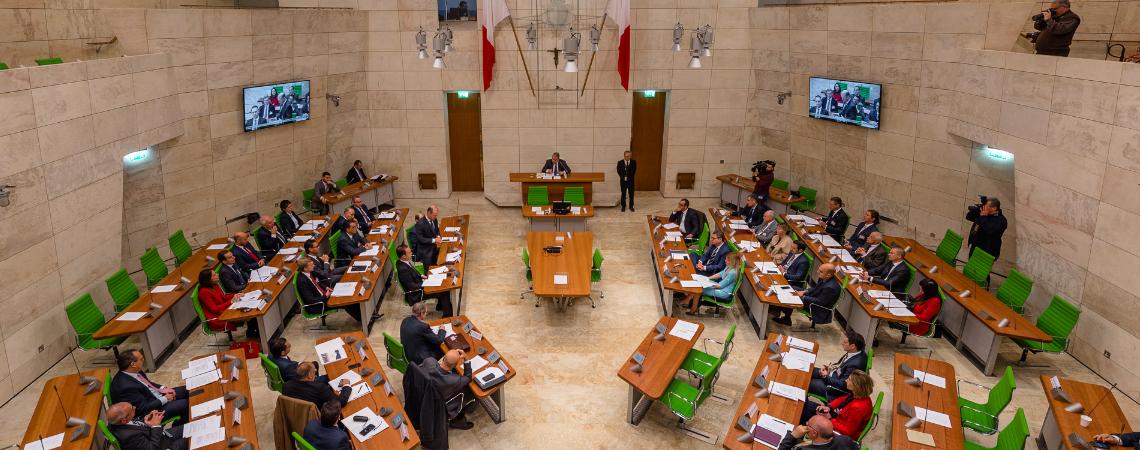 The Maltese Parliament of Enterprises. Photos - Albert Camilleri