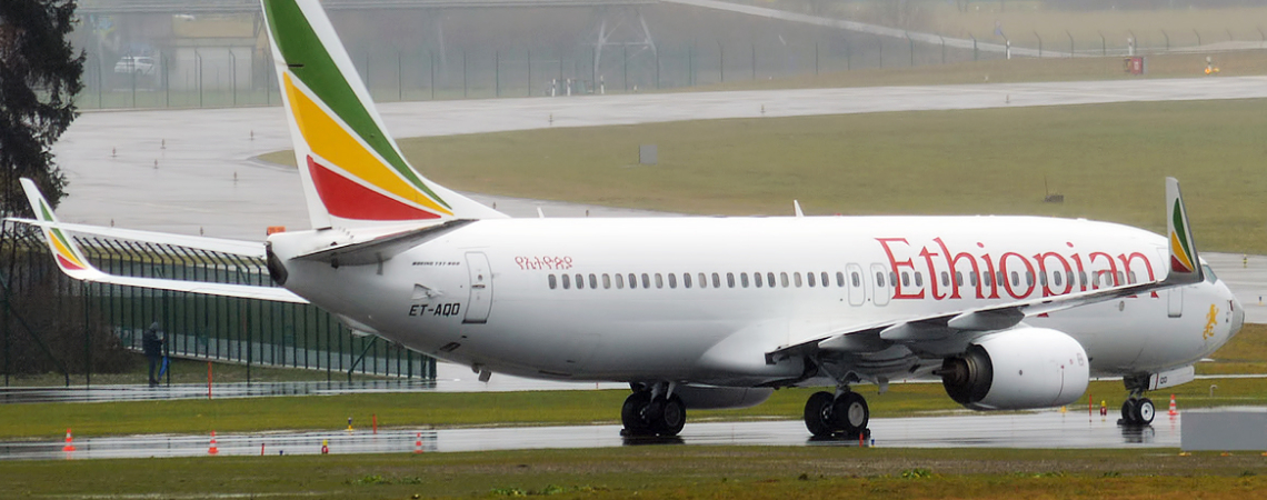 An Ethiopian Airlines Boeing 737. Photo - Wikimedia Commons