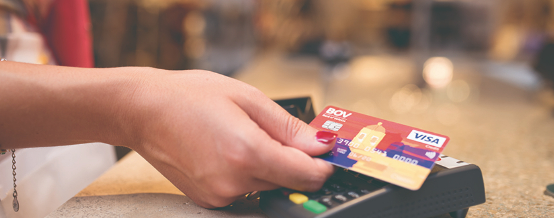 The intiative is aimed at supporting Caritas Malta while encouraging more clients to use cards for their transactions.