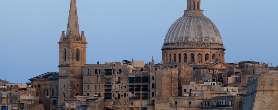"Describing Malta as an ""island nation, which used to be a backwards, albeit pleasant, place,"" the report said that it ""has become the most knowledge i"