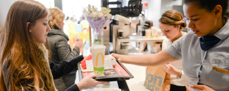 More and more McDonald's restaurants operated by Premier Capital feature self-ordering kiosks and quicker service facilities.