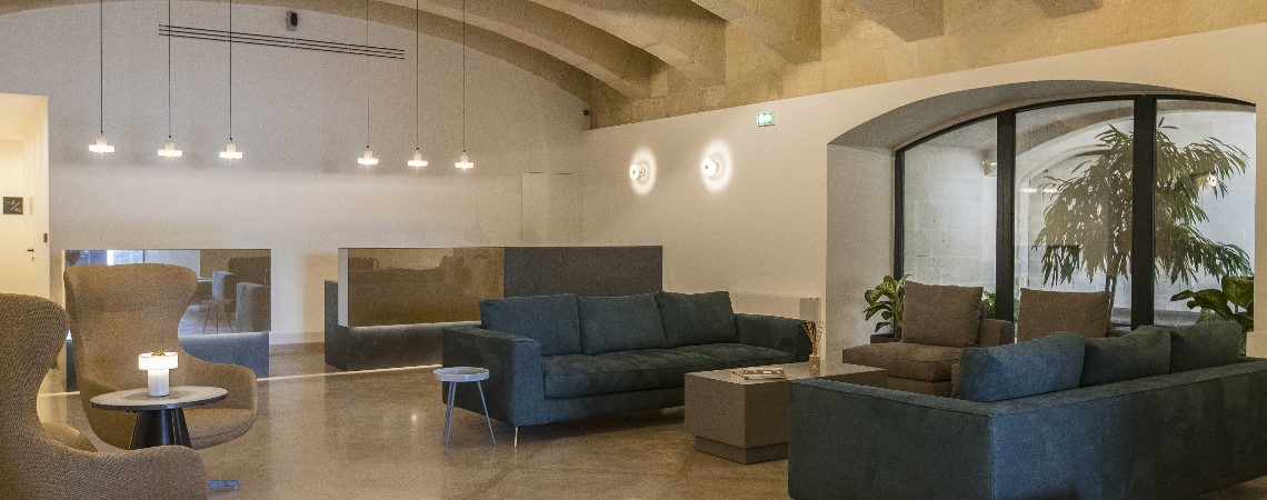 Cugo gran macina grand harbour becomes first maltese for Member of design hotels