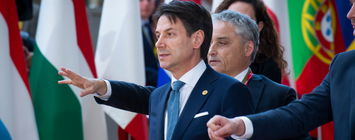 Italian Prime Minister Giuseppe Conte said the contraction was likely to continue into 2019.