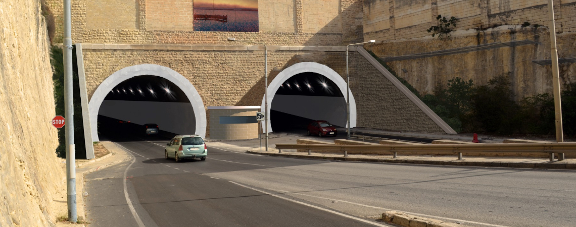 Works inside these tunnels will commence this year, as soon as the required contractors are identified through the ongoing procurement processes.