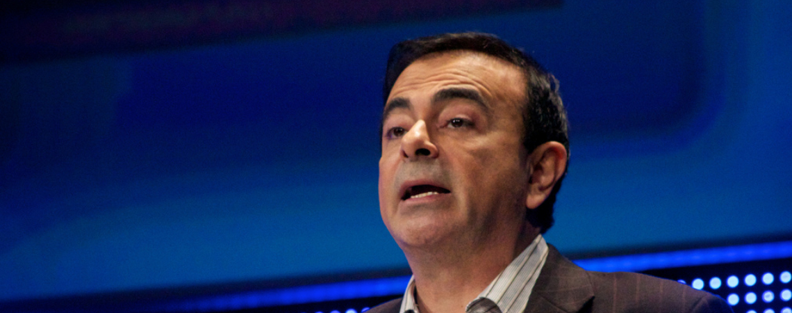 Former Nissan chairman Carlos Ghosn