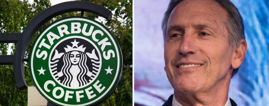 "Although Howard Schultz describes himself as a ""lifelong Democrat"", he said he would ""run as a centrist independent outside of the two-party system."""