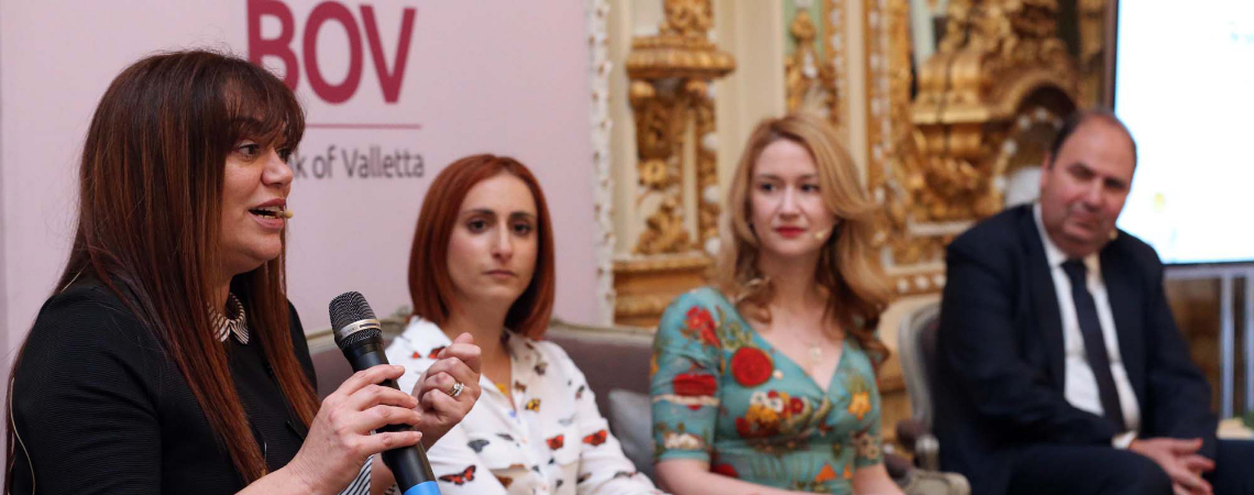 """""""Bank of Valletta believes in diversity and also works closely with women-led businesses to offer them tailor-made financial products to help them ach"""